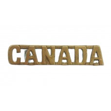 Canadian (CANADA) Shoulder Title