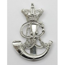 Oxfordshire Territorials Anodised (Staybrite) Cap Badge