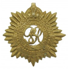 George VI Royal Canadian Army Service Corps Cap Badge