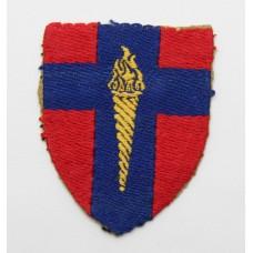 British Army of the Rhine B.A.O.R. Training Centre Cloth Formatio