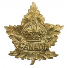 Canadian WW2 Canada General Overseas Service Cap Badge.