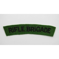 Rifle Brigade (RIFLE BRIGADE) Cloth Shoulder Title