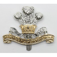 Cheshire (Earl of Chester's) Yeomanry Anodised (Staybrite) Cap Badge