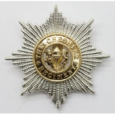 Cheshire Regiment Anodised (Staybrite) Cap Badge