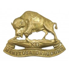 Canadian 12th Manitoba Dragoons Cap Badge