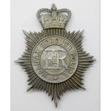 Halifax Borough Police Helmet Plate - Queen's Crown