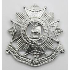 Bedfordshire & Hertfordshire Regiment Anodised (Staybrite) Cap Badge