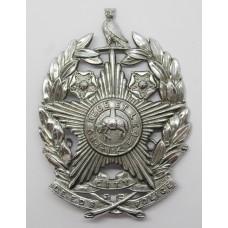 Leeds City Police Helmet Plate (Chrome)