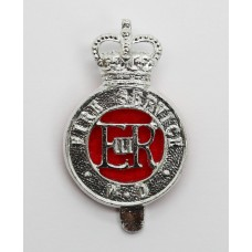 War Department Fire Service Anodised (Staybrite) Cap Badge