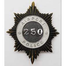 Airport Police Helmet Plate (250)