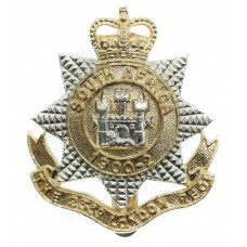 23rd Bn. London Regiment Anodised (Staybrite) Cap Badge - Queen's