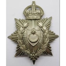 Portsmouth City Police Helmet Plate - King's Crown