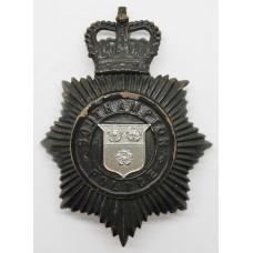 Southampton Police Night Helmet Plate - Queen's Crown
