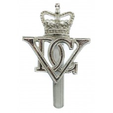 5th Dragoon Guards Anodised (Staybrite) Cap Badge