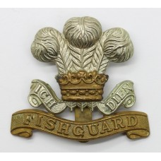 Pembroke Yeomanry Cap Badge