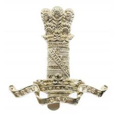 11th Hussars Anodised (Staybrite) Cap Badge