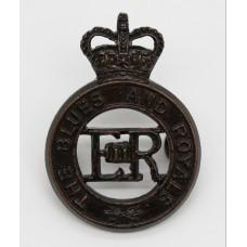 EIIR The Blues and Royals Cap Badge