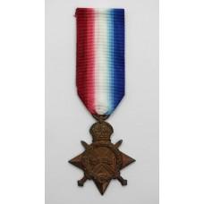 WW1 1914-15 Star - Cpl. E. Collins, Royal Field Artillery