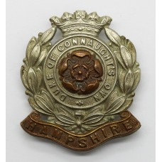 6th Bn. Hampshire Regiment (Duke of Connaught's Own) Cap Badge
