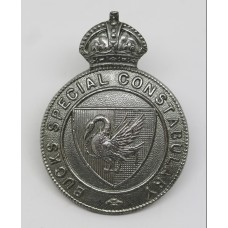 Bucks Special Constabulary Cap Badge - King's Crown
