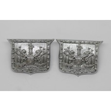 Pair of Southampton Police Collar Badges