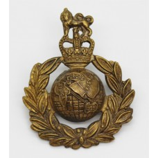 Royal Marines Cap Badge - Queen's Crown