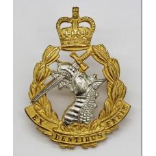 Royal Army Dental Corps (R.A.D.C.) Officer's Dress Cap Badge - Qu