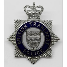 British Transport Police (B.T.P.) Senior Officer's Enamelled Cap