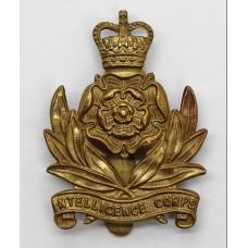 Intelligence Corps Cap Badge - Queen's Crown