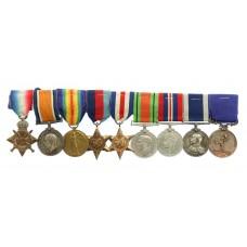 WW1, WW2, Long Service & Royal Humane Society Life Saving Med