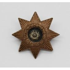 East Yorkshire Regiment Officer's Collar Badge