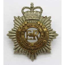 Royal Canadian Army Service Corps Cap Badge - Queen's Crown
