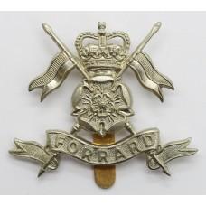 Queen's Own Yorkshire Yeomanry Cap Badge - Queen's Crown