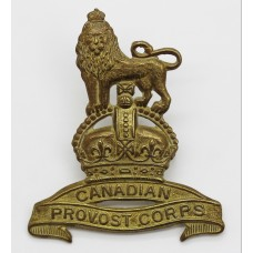 Canadian Provost Corps Cap Badge - King's Crown