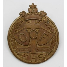 Kingham Hill School C.C.F. Cap Badge