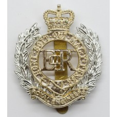Royal Engineers Anodised (Staybrite) Cap Badge