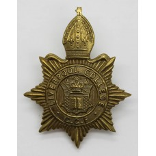 Liverpool College C.C.F. Cap Badge