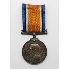 WW1 British War Medal - Pte. J.C. Wilde, 7th Bn. South Lancashire