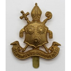 St. Edmund's School O.T.C. Cap Badge