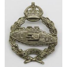 WW2 Canadian Armoured Fighting Vehicles Training Centre Cap Badge