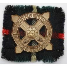 Rare Highland Regiment WW2 Plastic Economy Cap Badge