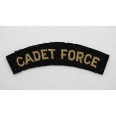 Cadet Force (CADET FORCE) Cloth Shoulder Title