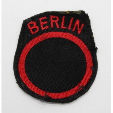 British Troops Berlin District Cloth Formation Sign (2nd Pattern)