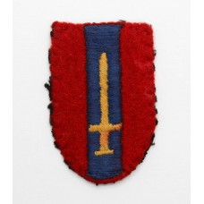 Royal Army Ordnance Corps Army Emergency Reserve (R.A.O.C. A.E.R.) Cloth Formation Sign