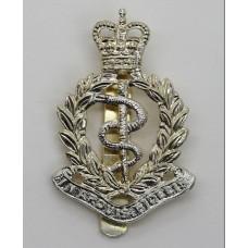 Royal Army Medical Corps (R.A.M.C.) Anodised (Staybrite) Cap Badg