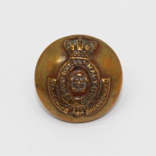Victorian Yorkshire Dragoons (Yeomanry Cavalry) Officer's Button (Small)
