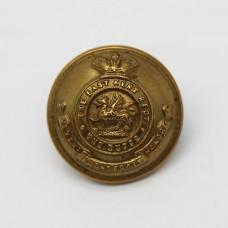 Victorian East Kent Regiment (The Buffs) Officer's Button (Small)