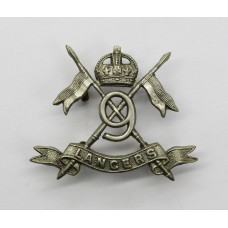 9th Lancers Collar Badges - King's Crown