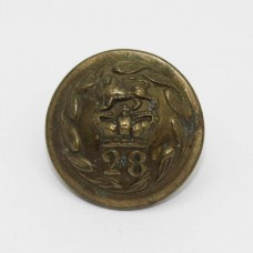 Victorian 28th (North Gloucestershire) Regiment of Foot Other Ranks Button (Small)