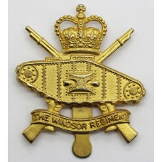 Canadian Windsor Regiment (R.C.A.C.) Armoured Cap Badge